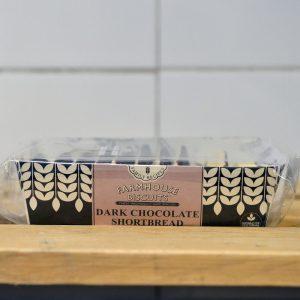 Farmhouse Vegan Dark Chocolate Shortbread – 150g
