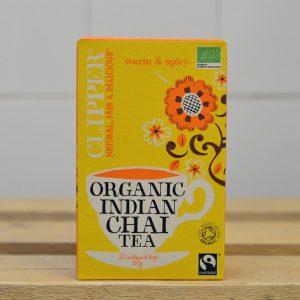 Clipper Organic Indian Chai Black Tea – 20 Pack