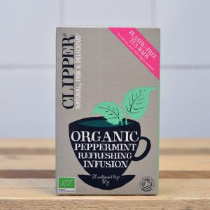 Clipper Organic Peppermint Tea – 20 Bags