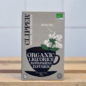 Clipper Organic Liquorice Tea – 20 Bags