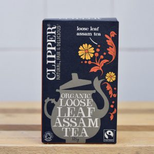 Clipper Organic Assam Loose Tea – 125g