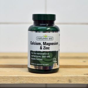 20% off Nature's Aid Calcium, Magnesium & Zinc (90 Tablets)