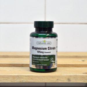 Natures Aid Magnesium Citrate Caps – 60 QTY