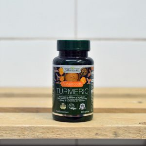 20% off Nature's Aid Turmeric 8200mg High Potency – 30 caps