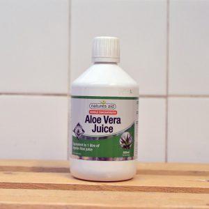 Natures Aid Aloe Vera Juice – 500ml