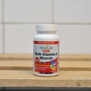 20% off Natures Aid Complete Multivitamin & Minerals – 90 tablet