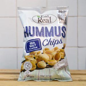 Eat Real Hummus Sea Salt Chips – 135g