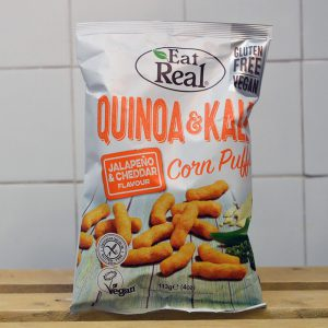 Eat Real Quinoa & Kale Jalapeno/Cheddar Puffs – 113g
