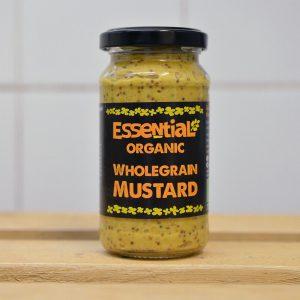 Essential Organic Wholegrain Mustard – 200g