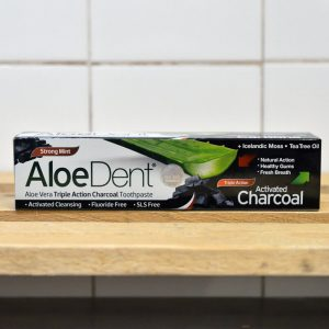 Aloe Dent Charcoal Toothpaste – 100ml