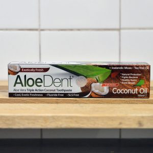 Aloe Dent Coconut Toothpaste – 100ml