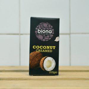 Biona Organic Creamed Coconut – 200g