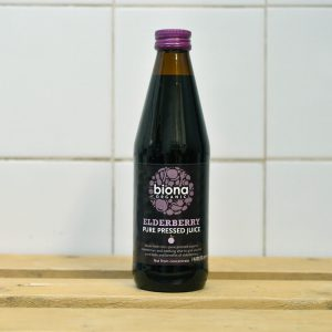 Biona Organic Pure Elderberry Juice – 330ml