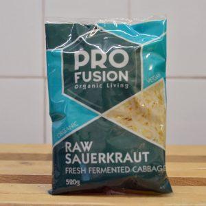 Profusion Organic Raw Fresh Sauerkraut – 520g