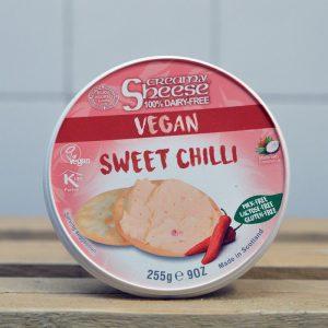 Sheese Vegan Cream Cheese With Sweet Chilli – 255g