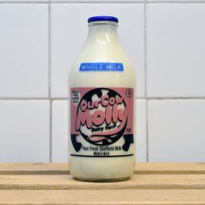 Our Cow Molly Pint Whole Milk (Glass)