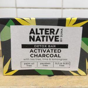 ALTER/NATIVE Detox Charcoal Soap – 95g