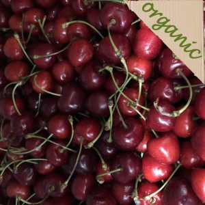 Organic Burlat Cherries (200g portion)