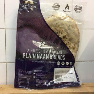 Zeds Plain Naan – 2 Pack