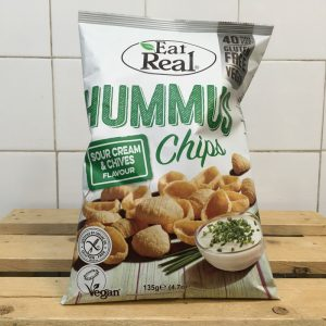 Eat Real Hummus Sour Cream/Chives Chips – 135g