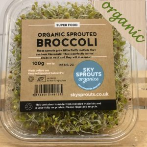 20% OFF-Zeds Organic Broccoli Sprouts – 100g