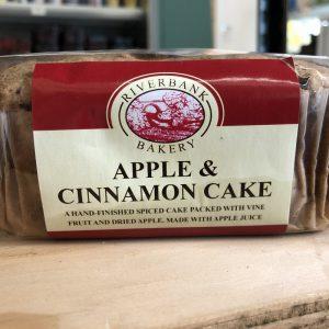 Riverbank Apple & Cinnamon Cake – 415g