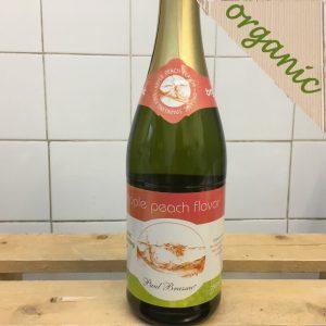 Brassac Organic Sparkling Apple Peach Juice