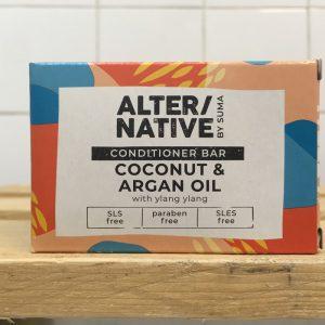 ALTERNATIVE Coconut Argan Conditioner Bar – 90g