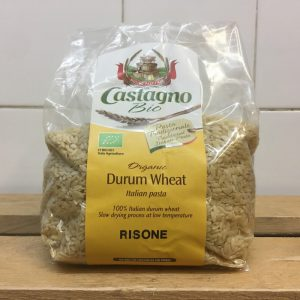 Castagno Organic Durum Wheat Risone Pasta – 500g