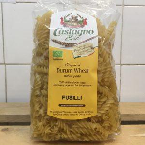 Castagno Durum Wheat Fusilli Pasta – 500g