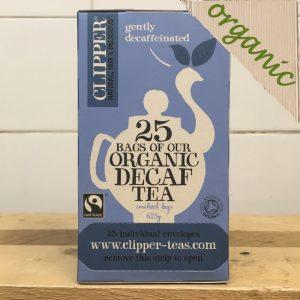 Clipper Organic Everyday Decaff Tea – 25 Bags