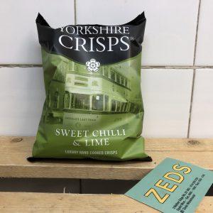 Yorkshire Crisps Co. Chilli & Lime Crisps – 40g