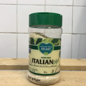 Follow Your Heart Vegan Fine grated Parmesan Cheese – 142g