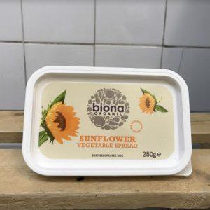 Biona Non Hydrogenated Sunflower Margarine – 250g