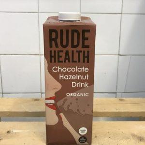 Rude Health Chocolate Hazelnut Drink – 1l