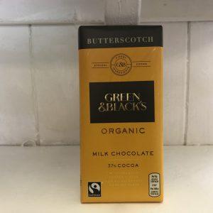 Green & Blacks Butterscotch Chocolate – 90g