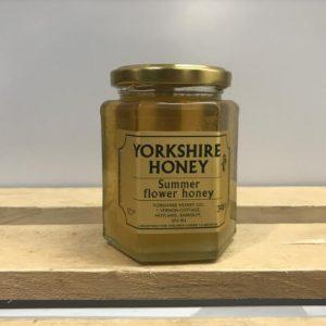 Yorkshire Summer Flower Honey (Clear) – 340g