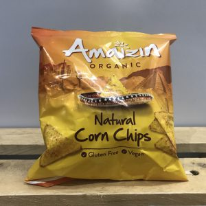 Amaizin Organic Small Corn Chips – 75g