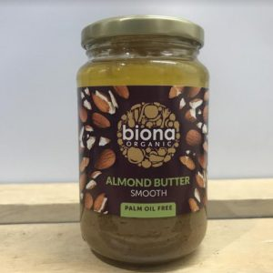 Biona Smooth Almond Butter – 350g