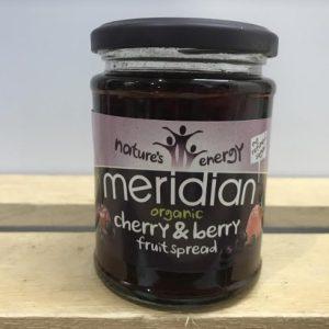 Meridian Organic Cherry & Berry Spread – 284g