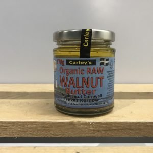 CARLEYS Raw Walnut Butter – 170g