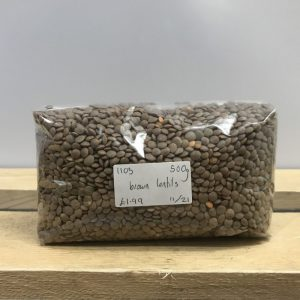 Zeds Brown Lentils – 500g