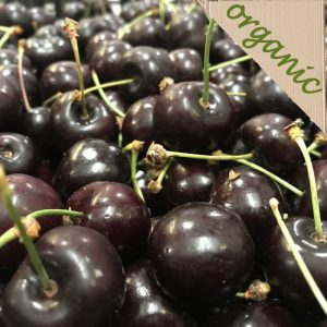 Organic Cherries (200g portion)