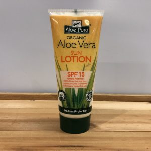 10% Off Aloe Pura Organic Aloe Vera Sun Lotion SPF 15