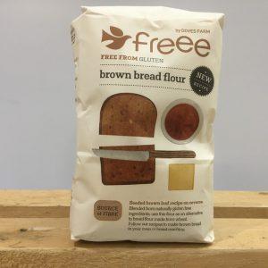 Doves Gluten Free Brown Bread Flour – 1kg