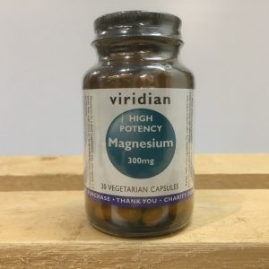 20% off Viridian High Potency Magnesium 300mg – 30 capsules