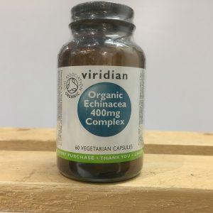 20% off Viridian Organic Echinacea 400 Complex – 60 capsules