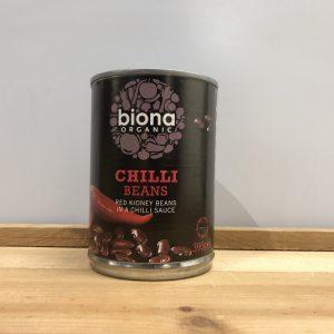 Biona Organic Chilli Beans – 395g