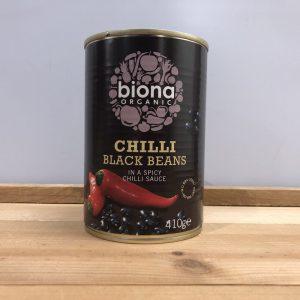 Biona Organic Chilli Black Beans – 410g