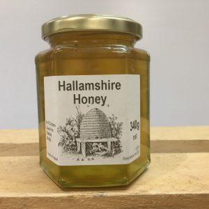 Hallamshire Local Raw Honey Clear-340g
